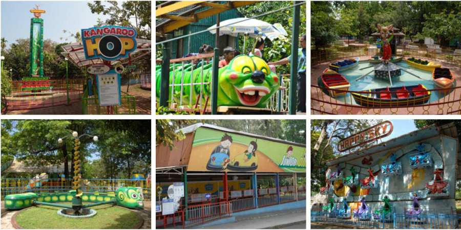 Kids Rides at Essel World Part 1