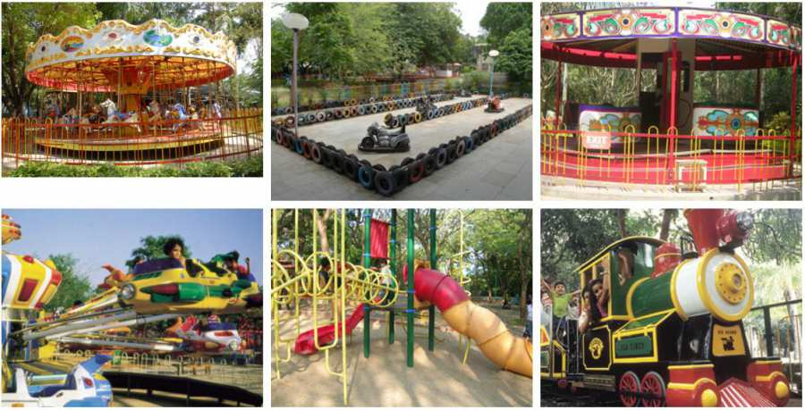 Kids Rides at Essel World Part 2