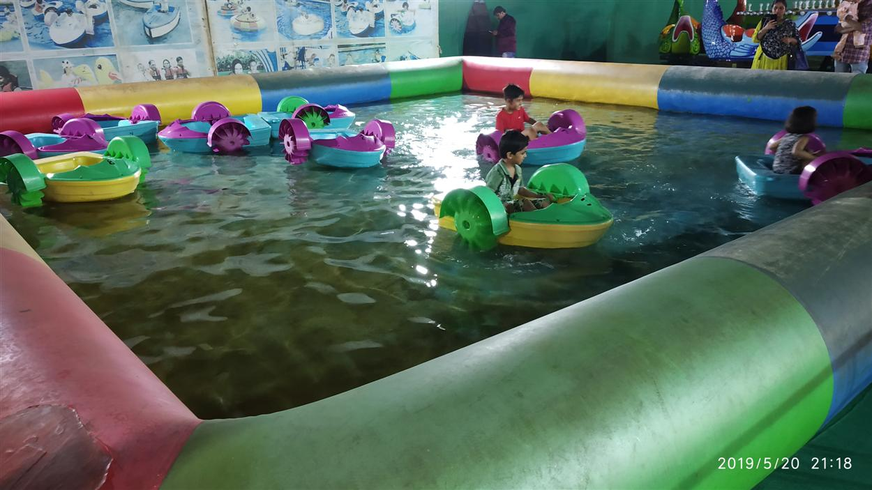 Water Boat Ride for Kids