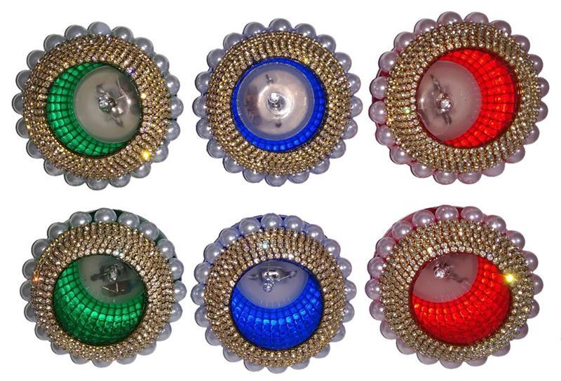 4 Colours LED Diya