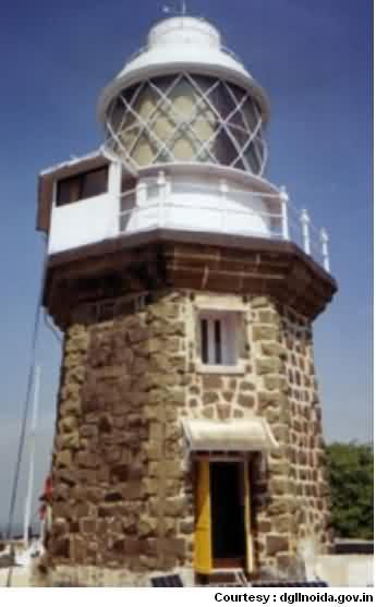 Lighthouse at Khanderi Island
