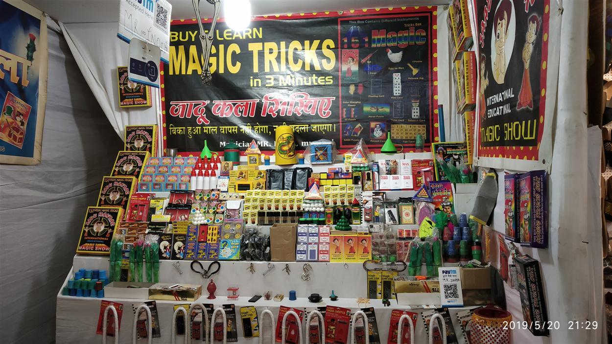 Magic Tricks Stall