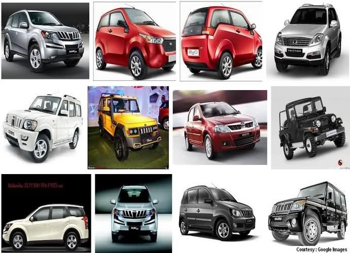 Mahindra and Mahindra Cars