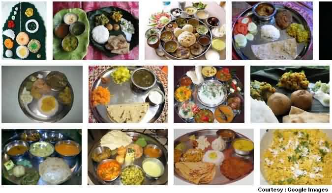 Special Food Cuisine Marathi Thali