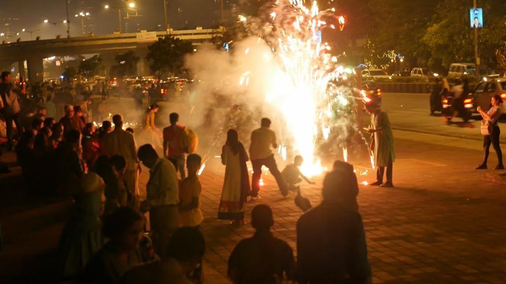 Marine Lines Diwali