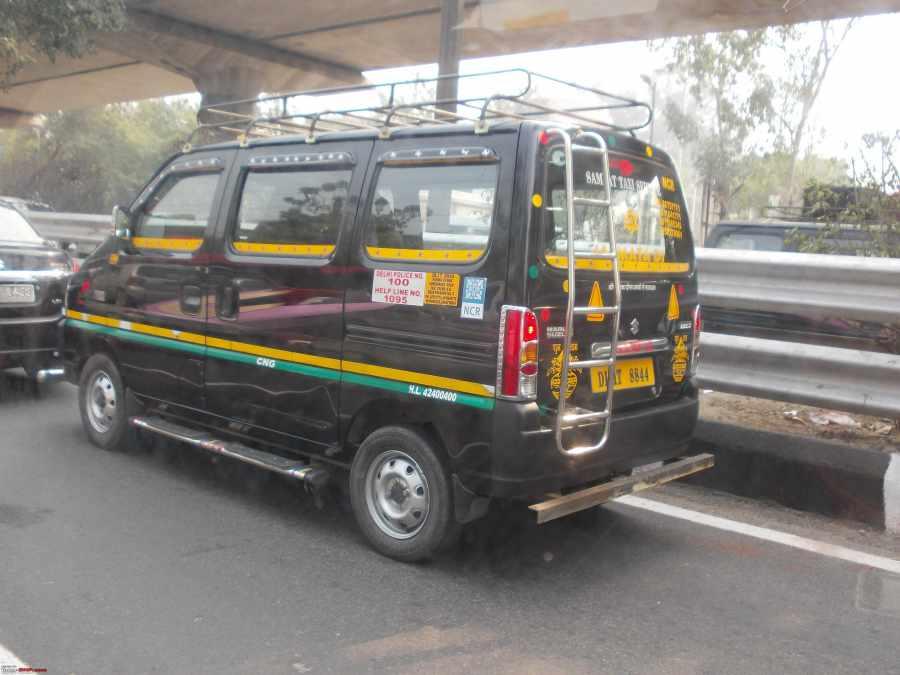 Maruti ECCO Model Taxi