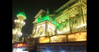 Minara Masjid Mohammad Ali Road