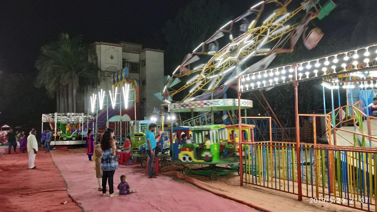 A mini Toy Train