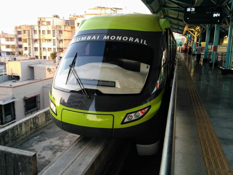 Monorail in Mumbai