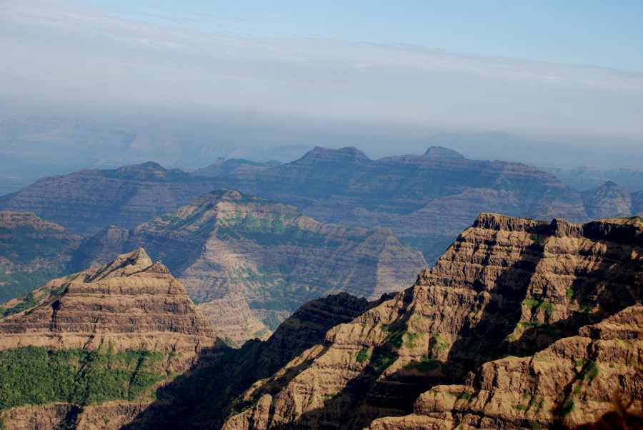 Mahabaleshwar Mountains and Valley