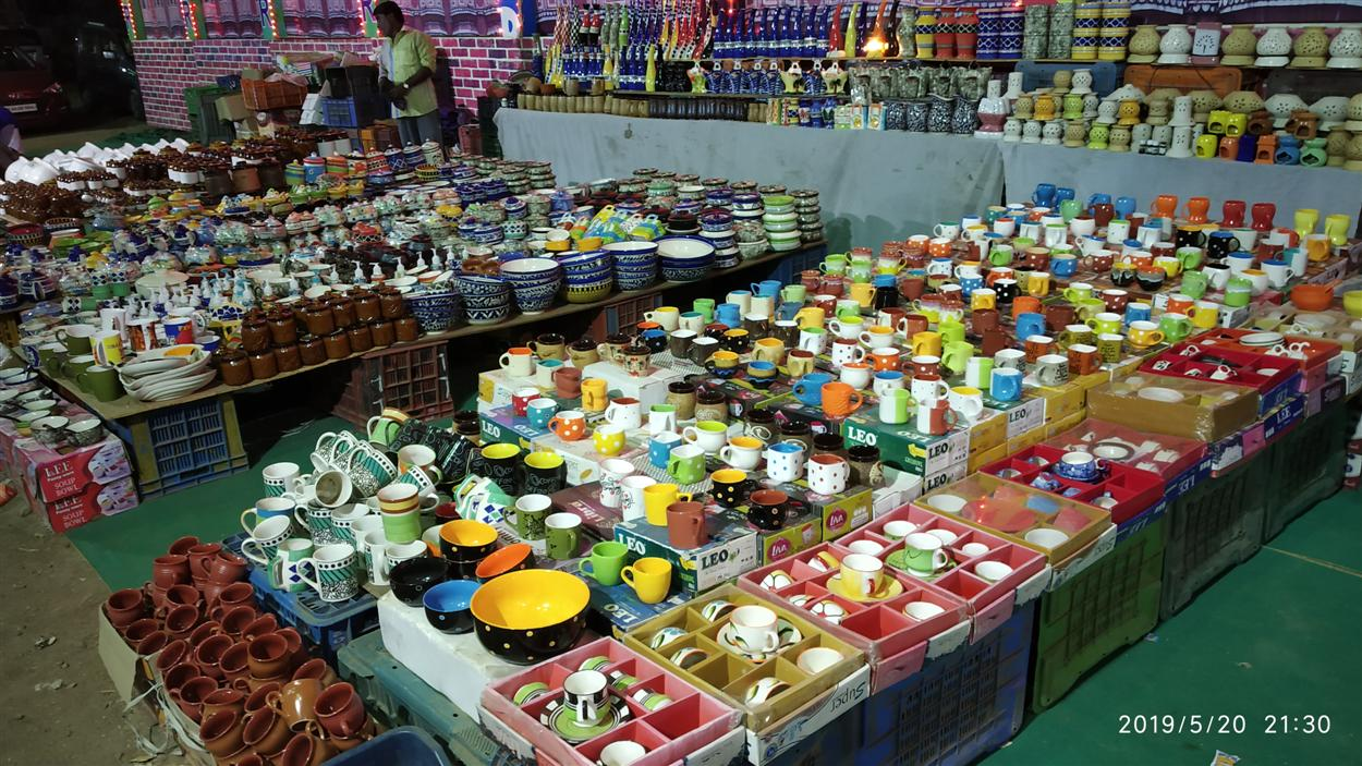 Colourful Mud Vessels Shop