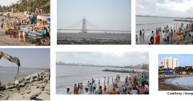 Multiple Pictures Of Dadar Beach