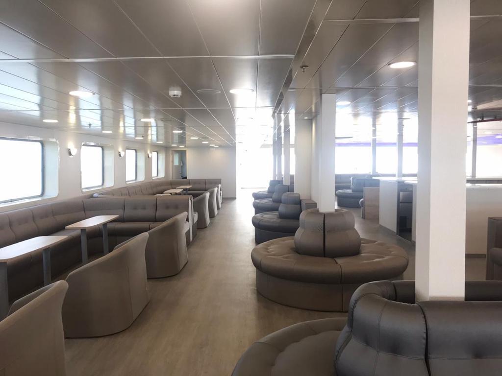 Seating Arrangements Inside Ro-Ro Ship