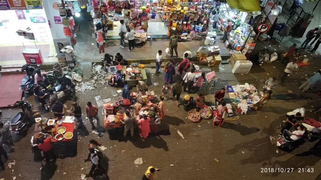 Mumbai Diwali Street View