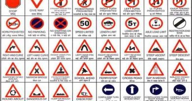 Mumbai Road Signs