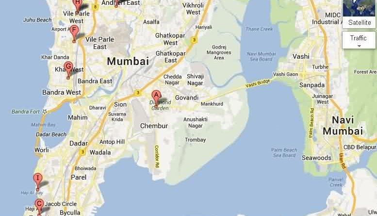 Khar Subway Map.Bmc Wards Also Called Administrative Zones In Mumbai