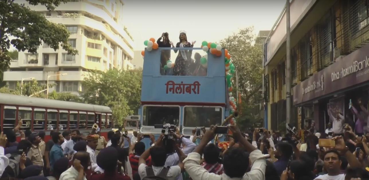 Nilambari Open Deck Bus