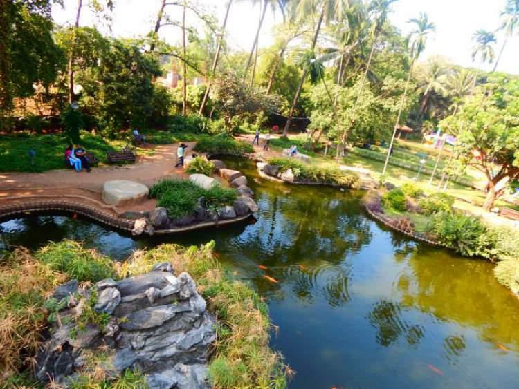 Nirvana Park Greenery and Pond