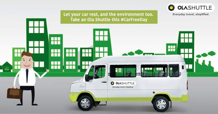 Ola Shuttle Bus
