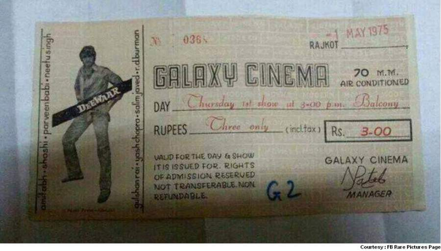 Rare Old Movie Ticket