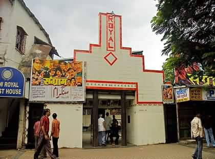 Old Royal Talkies at Grant Road, Mumbai