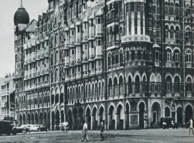 Old Taj Hotel Near Gateway 1950