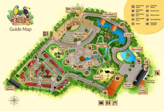 Bird Park Map