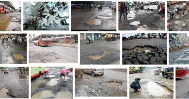 Potholes Mumbai Roads
