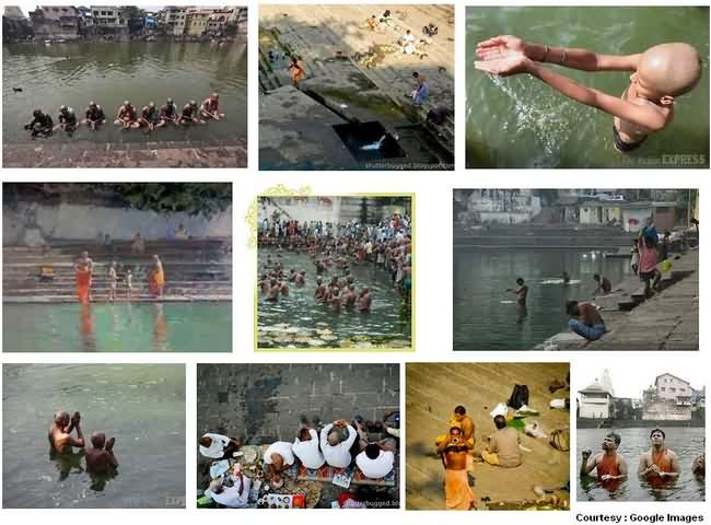 Rituals Followed At Banganga
