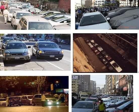 Road Side Illegal Car Parking