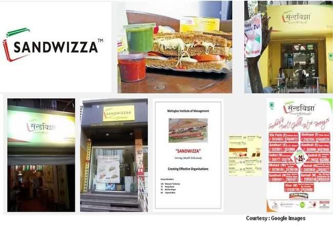 Sandwizza Menu