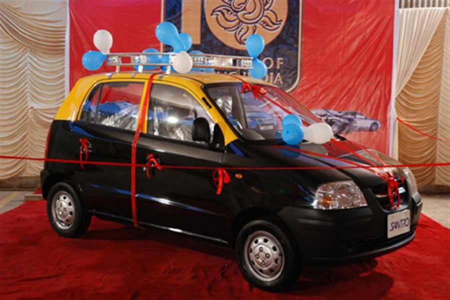 Santro Taxi in Mumbai