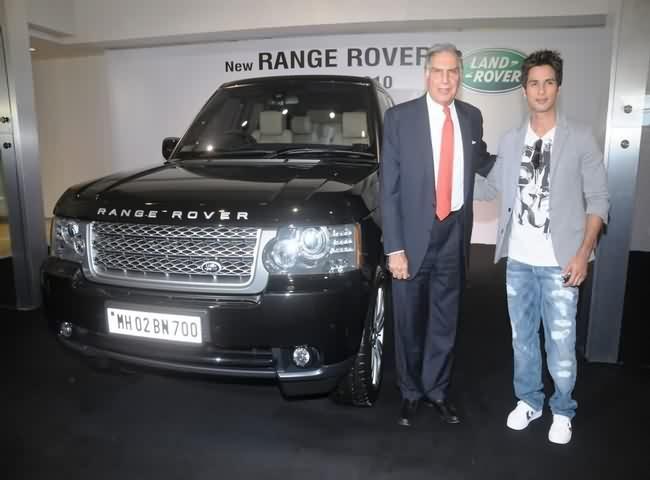 Shahid Kapoors Range Rover Car