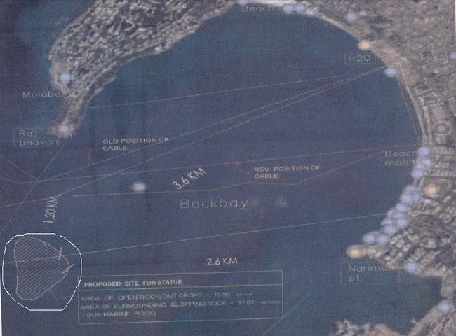 Location Of Shivaji Memorial Statue