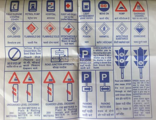 Mumbai Traffic Rules 2018 Road Safety And Traffic Signs