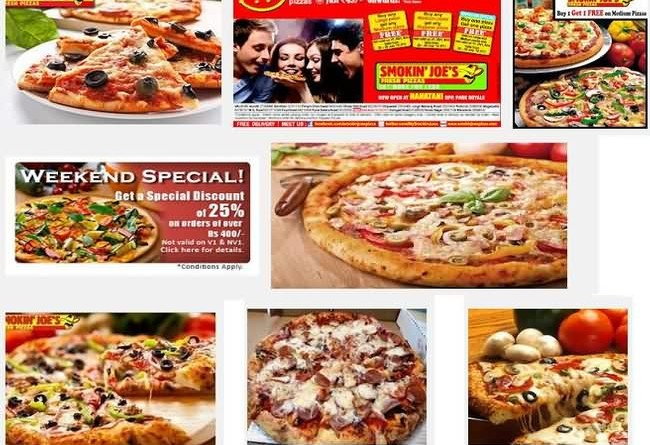 Smokin Joe Pizzas Mumbai