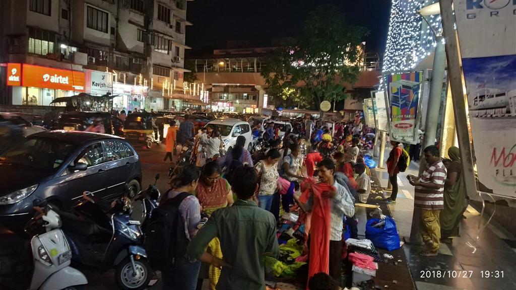 Mumbai Diwali Street Shopping Experience