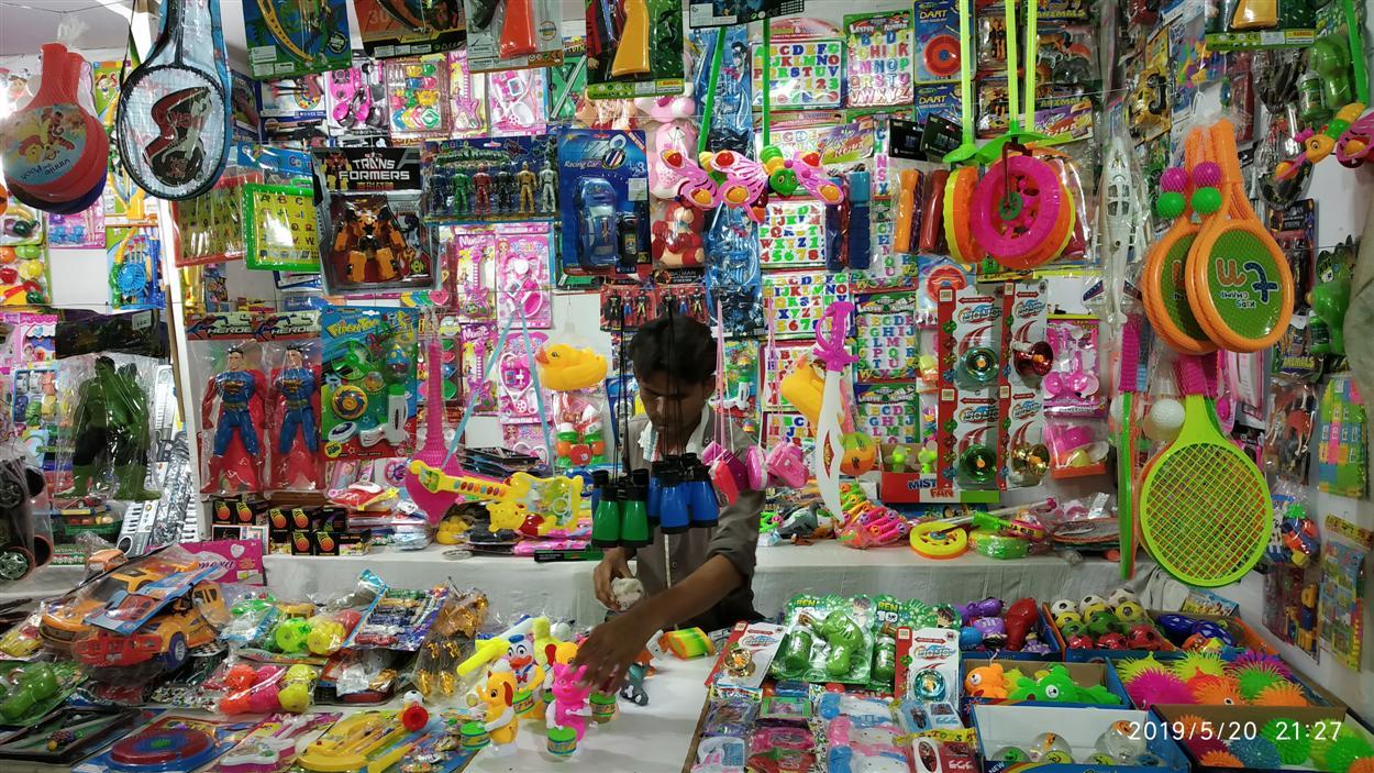 Teenage Toys Stall