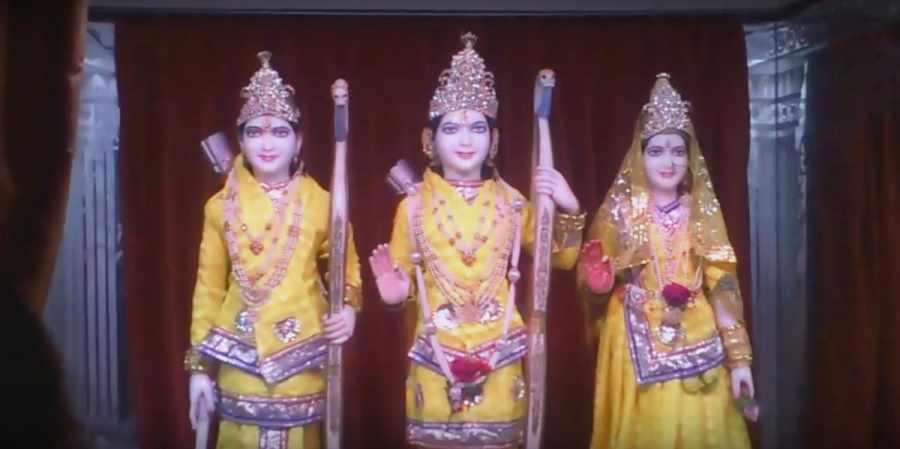 Sanyas Ashram Temple Gods