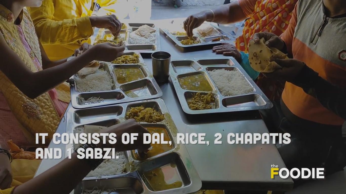 Shiv Bhojan Meal Plate