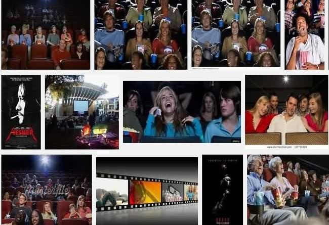 Movie Theater Happy days