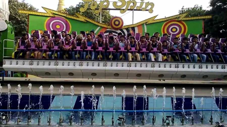 Top Spin Ride at Essel World