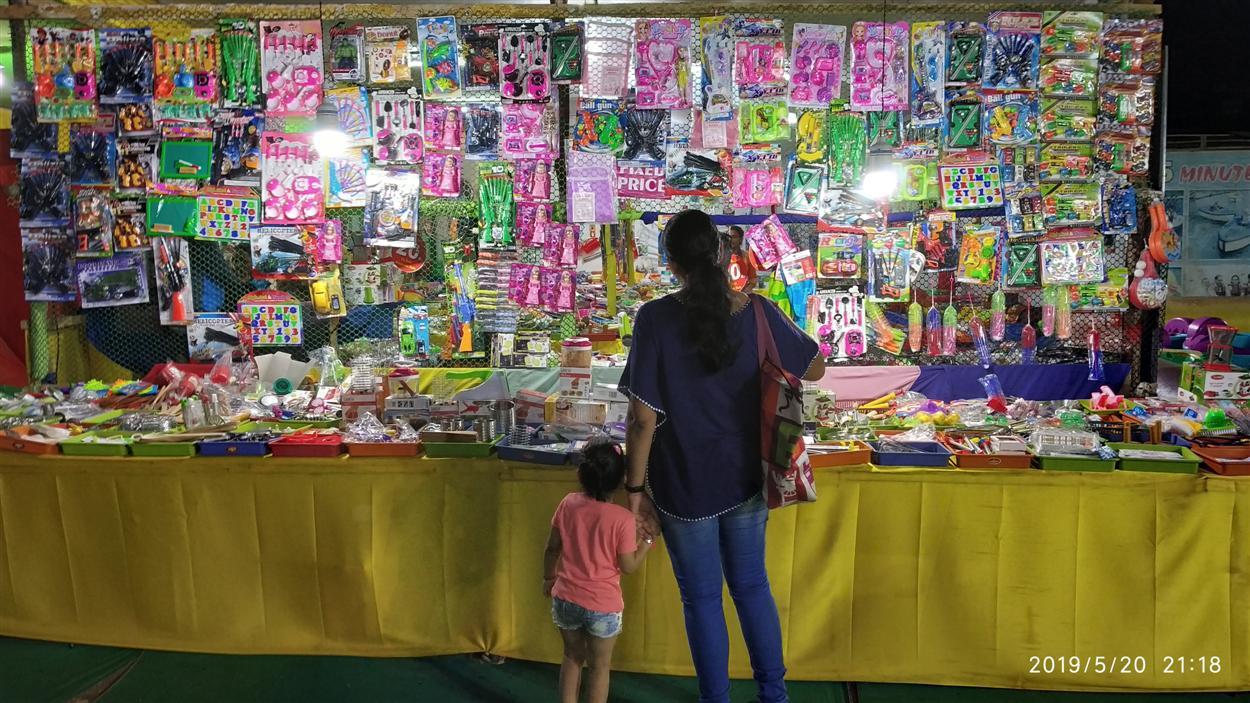Toy Stall Inside Mela