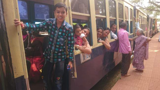 Matheran Toy / Shuttle Train.