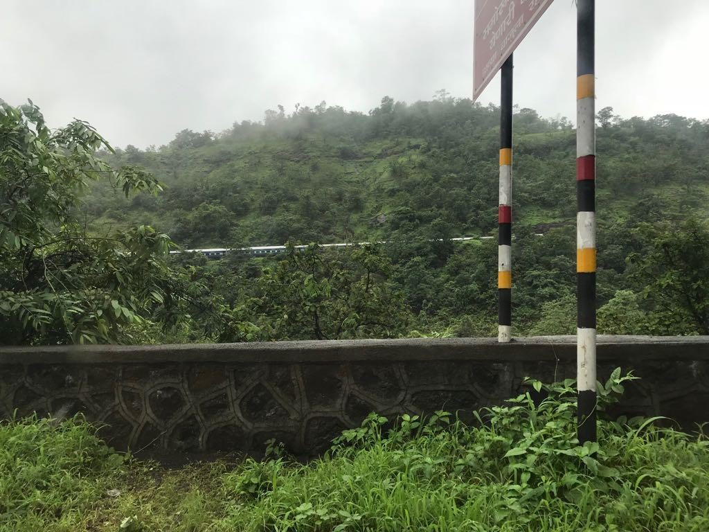 Train at Kasara Ghat