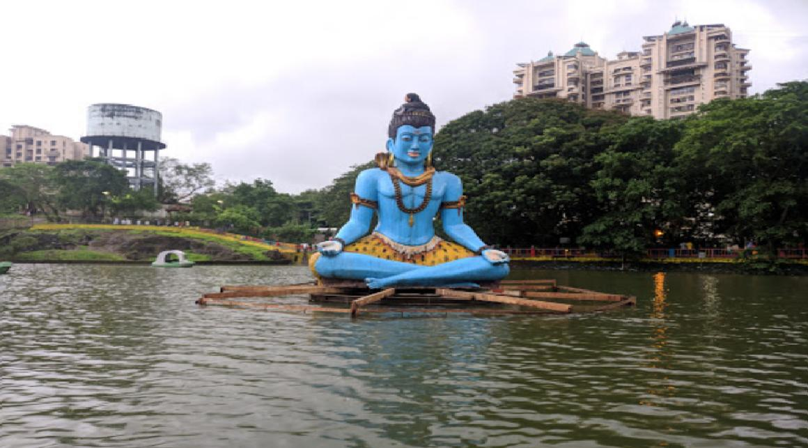 Upvan Lake Lord Shiva Idol