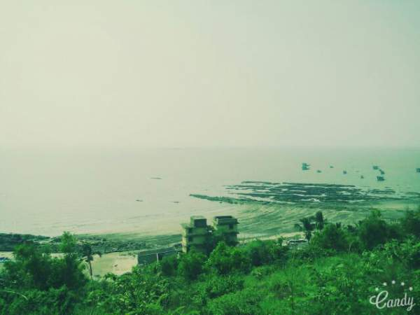 Uttan Virgin Beach Aerial View