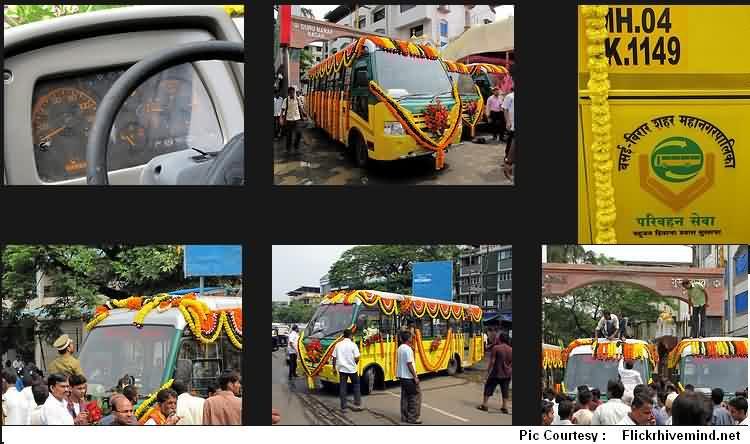 Vasai Virar Municipal Transport (VVMT) Buses