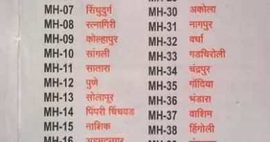 Vehicle Registration Numbers Maharashtra