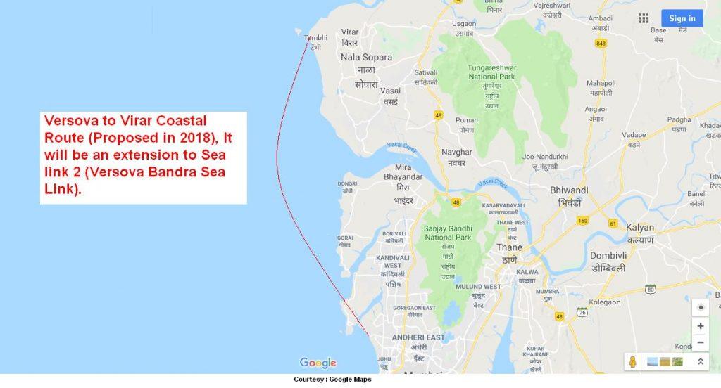 Versova Virar Sea Link